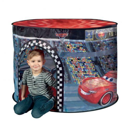 Namiot dla Dzieci z Lampką – Auta