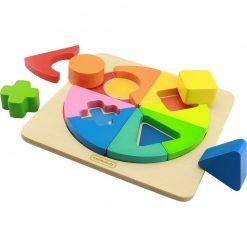 Kolorowa układanka geometryczna