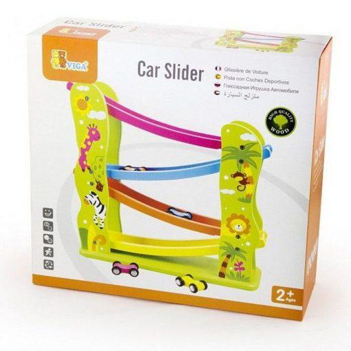 Zjeżdżalnia dla samochodzików