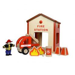 Mini remiza strażacka