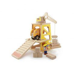 Drewniany plac budowy