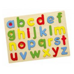 Puzzle do Nauki Alfabetu Małe Literki