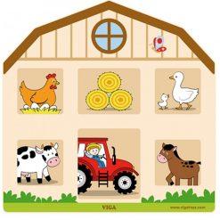 Tablica Sensoryczna Farma
