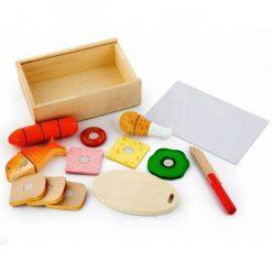 Drewniany Zestaw Lunch Box