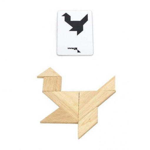 Tangram – Drewniana Łamigłówka