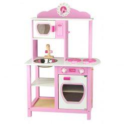 Drewniana Kuchnia Princess Pink