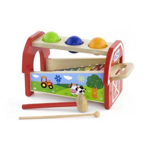 Drewniane Cymbałki dla Dzieci