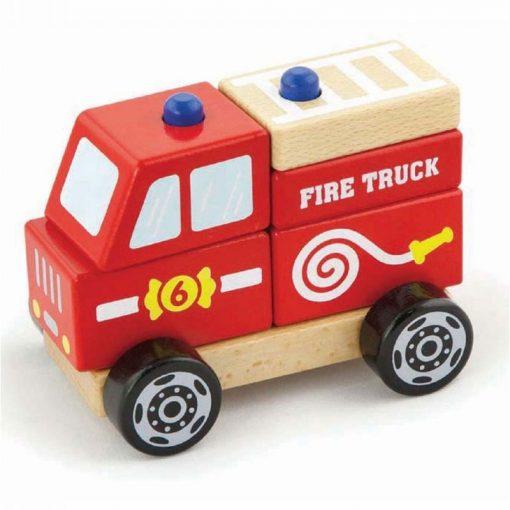 Zestaw Klocków Straż Pożarna