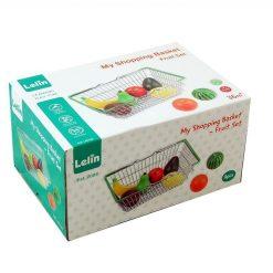 Koszyk sklepowy z owocami