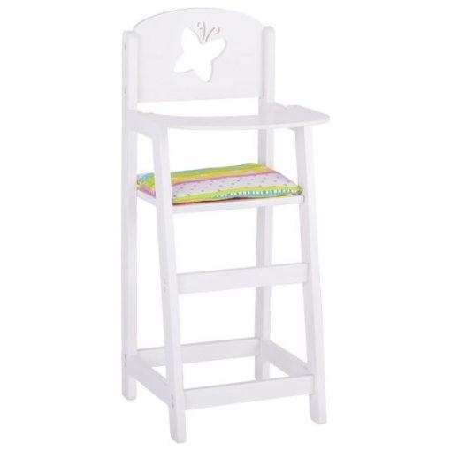 Drewniane krzesło dla lalek