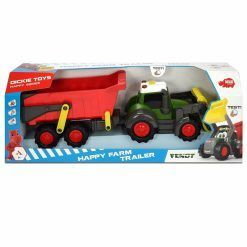 Traktor z przyczepą