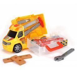 Samochód z narzędziami