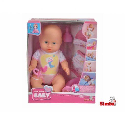 New born baby z akcesoriami