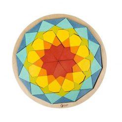 Kolorowe Klocki Mandala