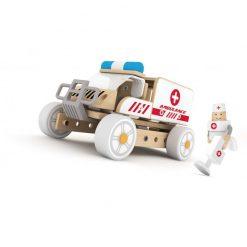 Klocki Konstrukcyjne Ambulans