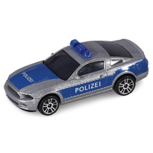 Posterunek policji z radiowozem