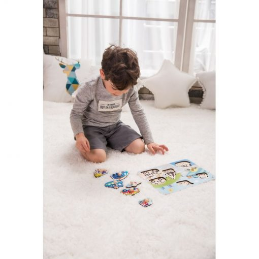 Puzzle Ruch Drogowy