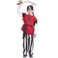 Strój Pirata z szablą 146 cm