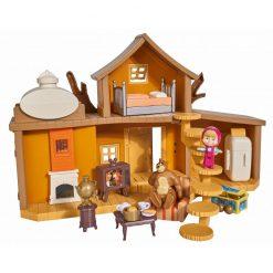 Dwupoziomowy dom Niedźwiedzia z akcesoriami