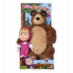 Maskotka i lalka Masza i Niedźwiedź