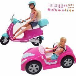 Steffi Zestaw 2 lalki + samochód
