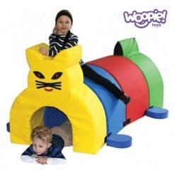 Mega klocki piankowe Tunel Kot