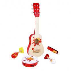Zestaw Muzyczny Gitara i Tamburyn