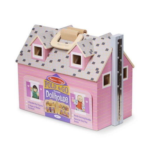 Domek dla lalek drewniany