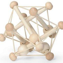 Drewniana zabawka elastyczna bryła