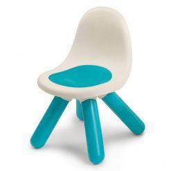 Niebieskie Krzesełko z Oparciem