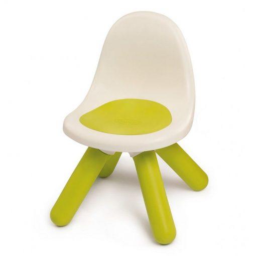 Zielone Krzesełko z Oparciem