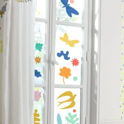 Naklejki na okno Fantastyczne kolory