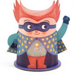 Papierowa lampka nocna Superbohater