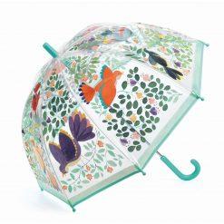 Parasol przeciwdeszczowy Ptaki i kwiaty