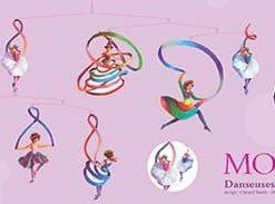 Ruchoma dekoracja Baletnice