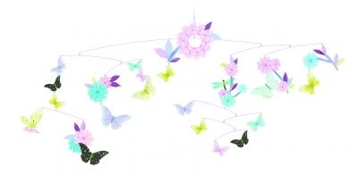 Ruchoma dekoracja Motyle