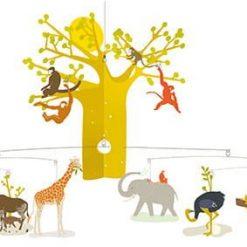 Ruchoma dekoracja Zwierzęta sawanny