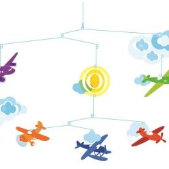 Ruchoma dekoracja Samoloty