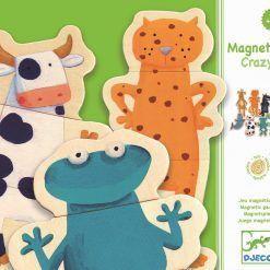 puzzle magnetyczne Zwierzątka