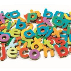 Małe literki magnetyczne