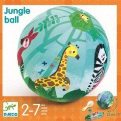 Piłka materiałowa z balonami Dżungla