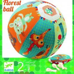Piłka materiałowa z balonami Las
