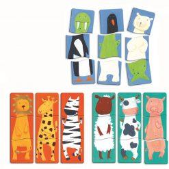Puzzle drewniane Zwierzaki