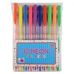 Długopisy żelowe neonowe