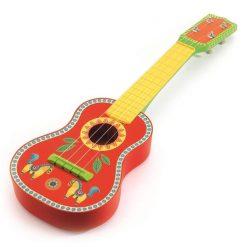 Drewniana gitara Ukulele