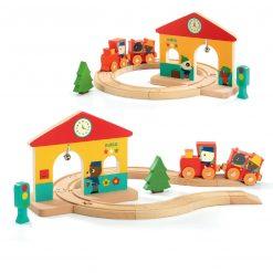 Drewniana zabawka Ministacja