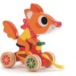 Zabawka do ciągnięcia Wiewiórka