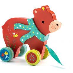 Zabawka do ciągnięcia Niedźwiadek