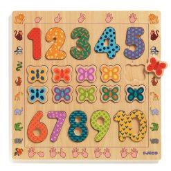 Cyfry do nauki liczenia do 10