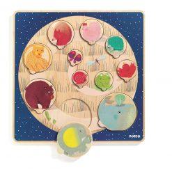 Drewniane puzzle Ludi & Co